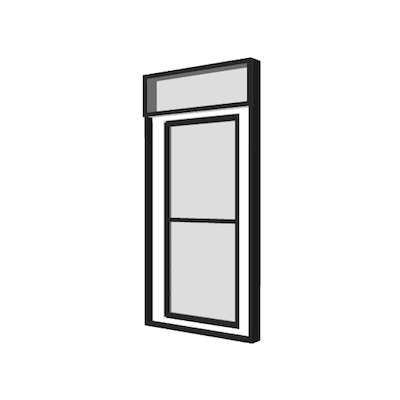Door- Glazed (4x8x6.5)