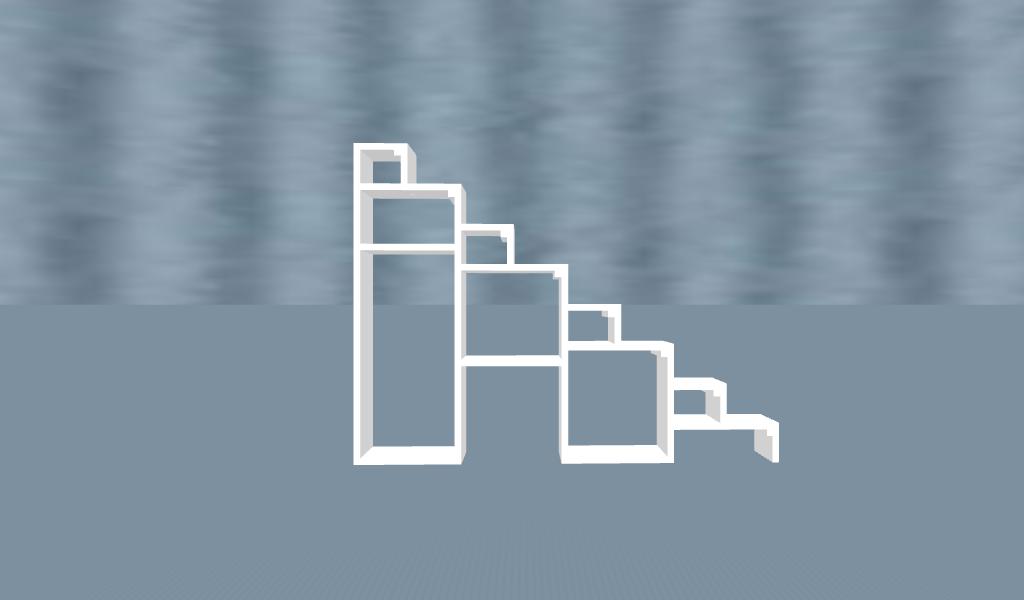 Loft Steps w: Storage Model