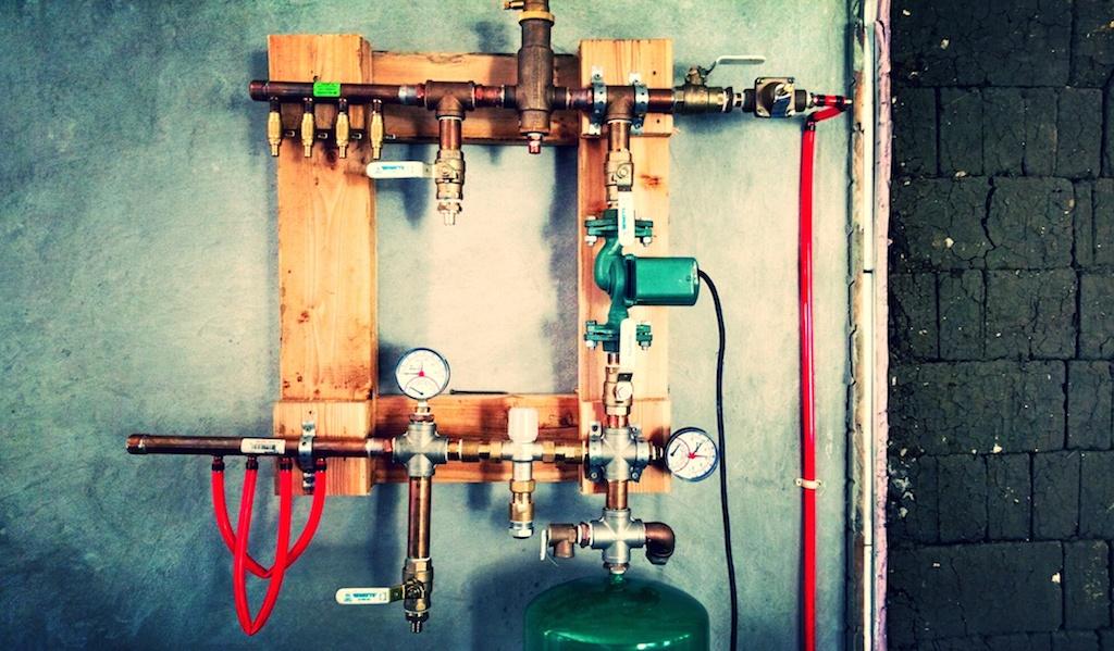 hydronics control panel
